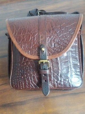 Braune Vintage Crossbody Tasche von Mulberry