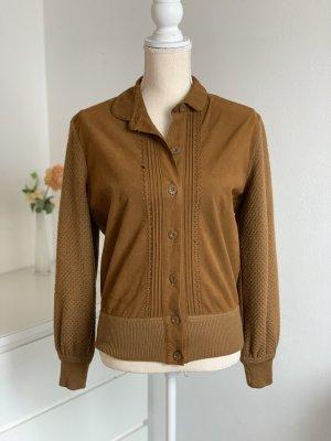 Braune Vintage Jacke