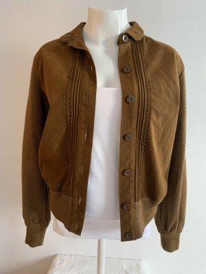 Braune Vintage Jacke von Escada Gr. 36/38