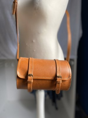 Zara Borsa a spalla cognac-marrone