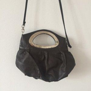 braune Vintagetasche