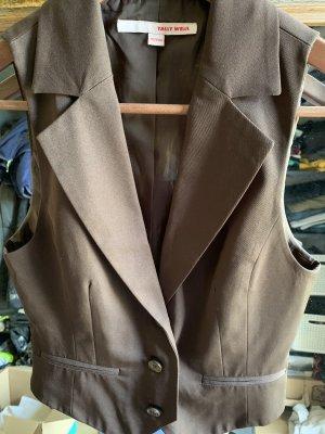 Taily Weijl Waistcoat brown