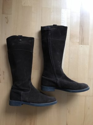 bebe Jackboots dark brown