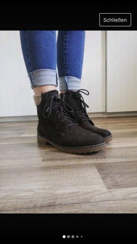 braune Winterschuhe Stiefel