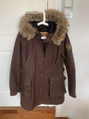 Belstaff Płaszcz zimowy brązowy