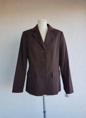 Chicc Jersey blazer bruin-donkerbruin