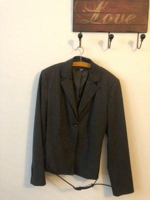 Brauner Blazer von S.Oliver mit Taillengürtel, Größe 40