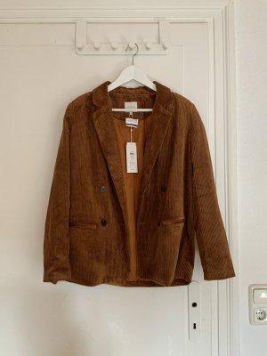 Brauner Cord blazer