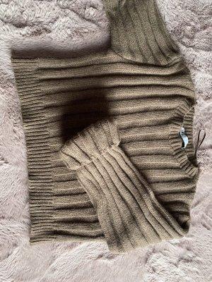Brauner cropped Pullover L Damen♥️