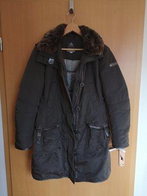 Peuterey Abrigo de plumón marrón oscuro