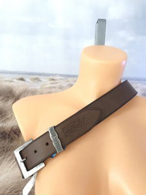Jet Set Leather Belt multicolored leather