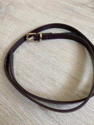 Waist Belt dark brown-gold-colored