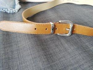 brauner Gürtel NEU H&M Silberschnalle