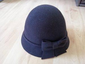 C&A Sombrero de lana marrón oscuro-marrón Lana