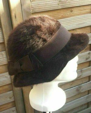 / Woolen Hat brown polyacrylic
