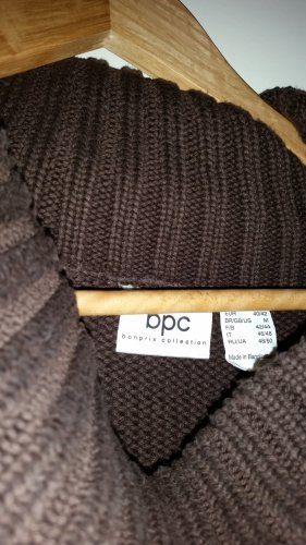 Long Cardigan brown mixture fibre