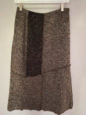 Brauner langer Rock von Jacqueline Riu, Gr. 42