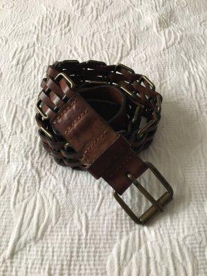Energie Leather Belt brown