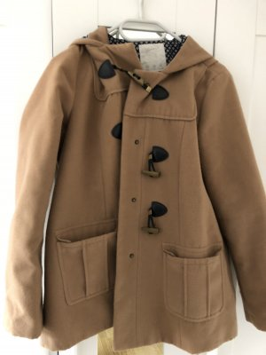 Hooded Coat light brown