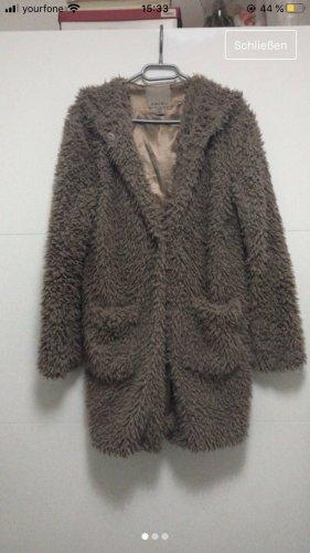Amisu Abrigo de entretiempo color bronce