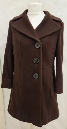 Fuchs Schmitt Marynarski płaszcz brązowy