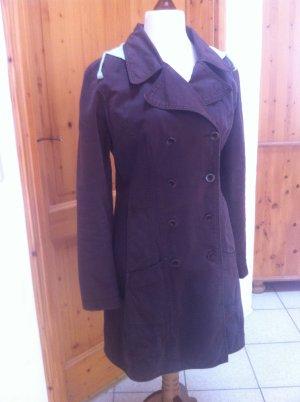 Closed Manteau mi-saison brun coton