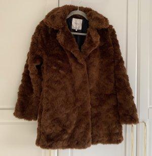 Brauner Mantel Zara