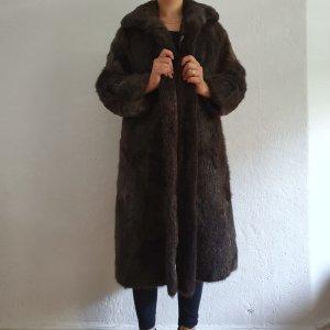 Brauner Pelz Mantel Vintage L/XL Top! Internationale Pelz Mode Lady Style