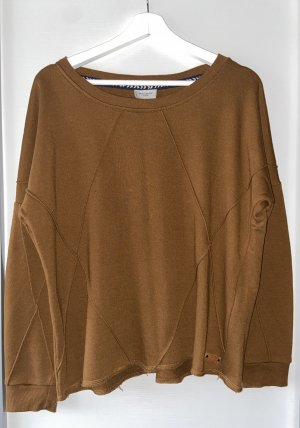 Vero Moda Bluza dresowa brąz-brązowy