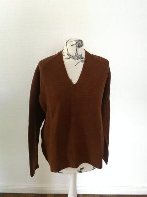 Armedangels V-Neck Sweater brown