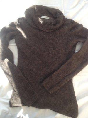 Brauner Pullover von René Lezard