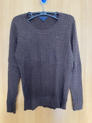 Brauner Pullover von Tommy Hilfiger