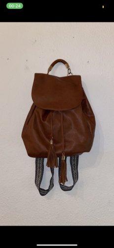 Primark School Backpack brown