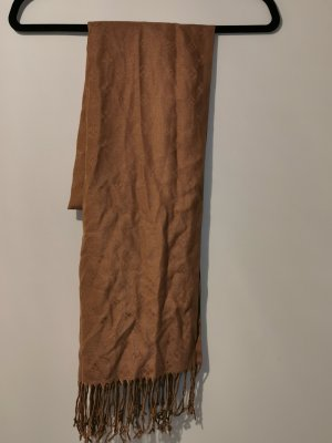 Fringed Scarf bronze-colored