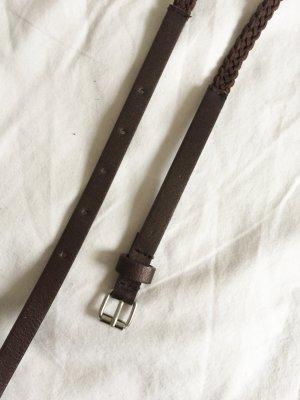 Zara Braided Belt multicolored imitation leather