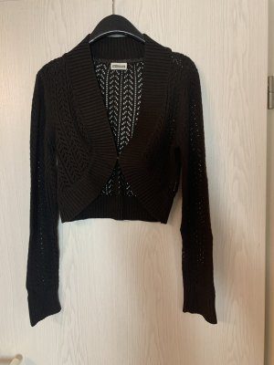 Street One Knitted Bolero black brown