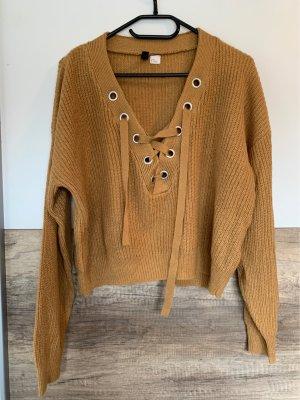 Brauner Strick Sweater