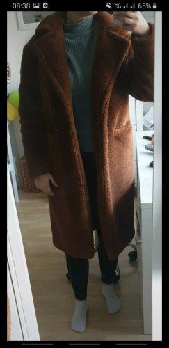 Primark Fake Fur Jacket brown