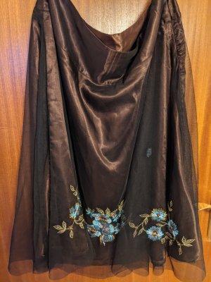 Tiulowa spódnica Wielokolorowy Poliester