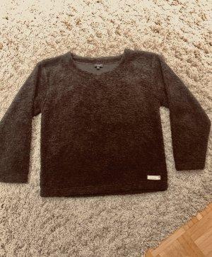 Brauner Venice beach activewear kuscheliger Winter pullover/ Sweater oversized Gr. M