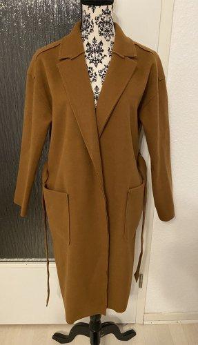 LC Waikiki Abrigo de lana coñac-marrón