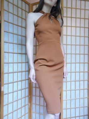 Braunes Abendkleid Zara 36