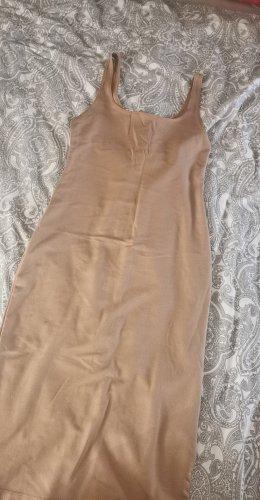 Braunes Basic Kleid von Zara