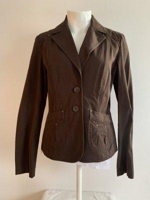 Braunes Blazer Jacket von Hallhuber Philosophy Gr. 40