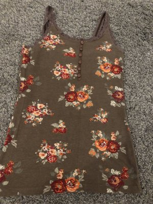 Vintage Off the shoulder top veelkleurig