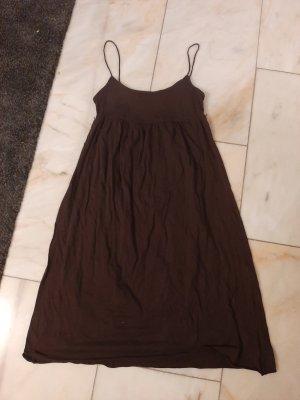 H&M Sweat Dress dark brown