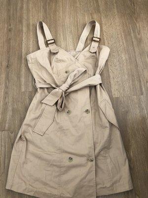 Braunes Kleid mit Taschen