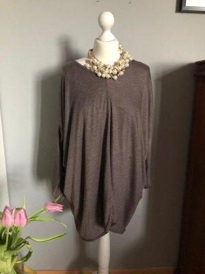 Robe t-shirt bronze tissu mixte