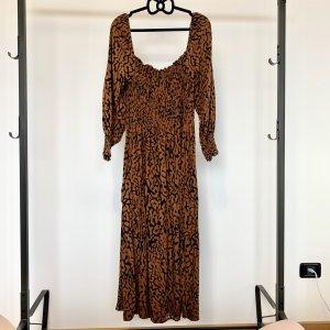 H&M Robe Hippie brun-noir