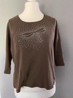 Braunes Langarmshirt von Betty Barclay, Gr. 44